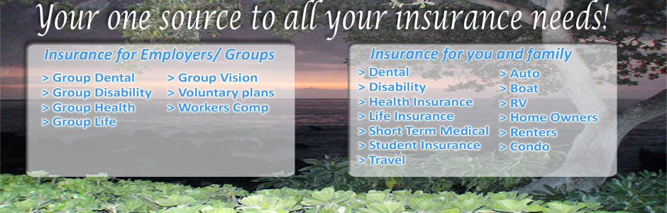 Insurance plans offered